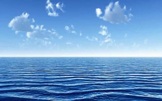 An ocean wide
