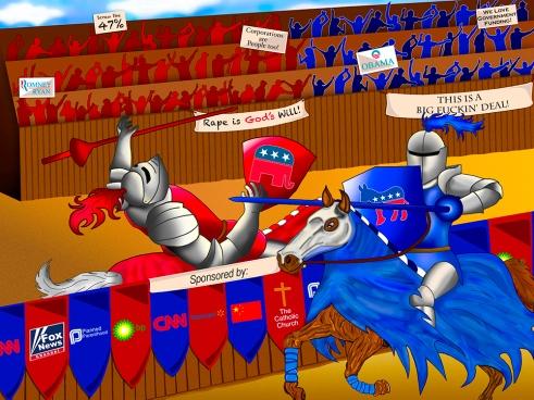 Politics Briana Jager Digital Art
