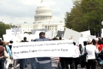 Coptic Christians March on the Capitol