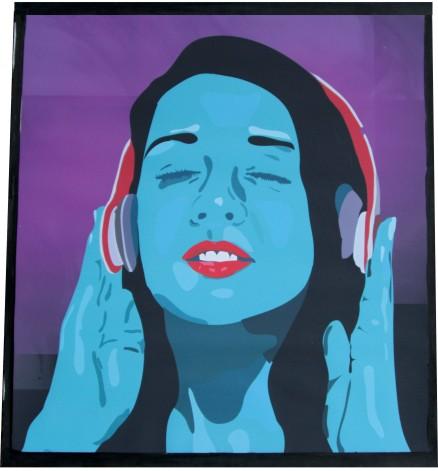 Listening  Ina Kaur  Print