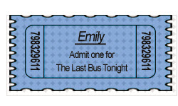 Bus Ticket - Emily