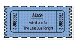 Bus Ticket - Marie