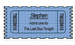 Bus Ticket - Stephen